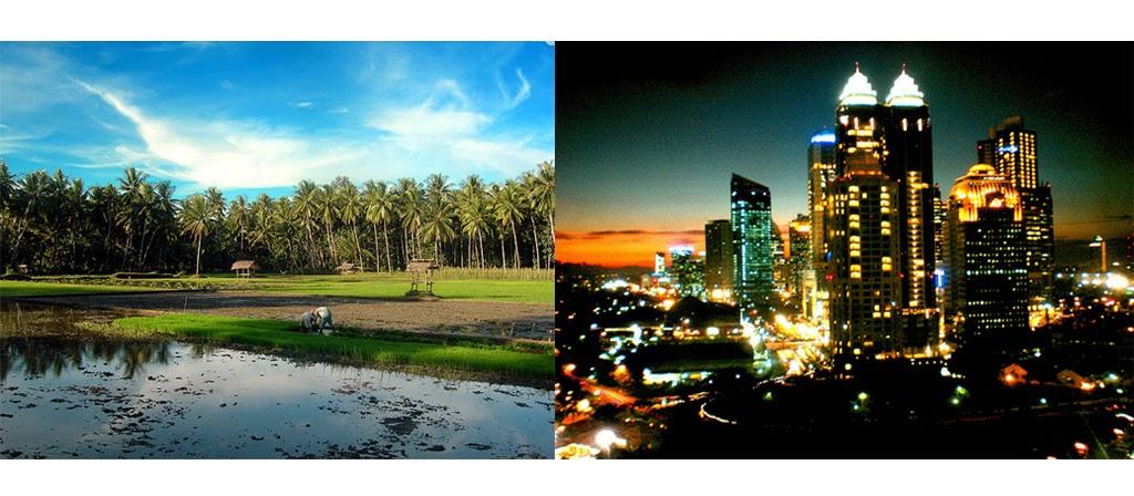 Perbedaan Desa Dan Kota Yang Wajib Anda Ketahui