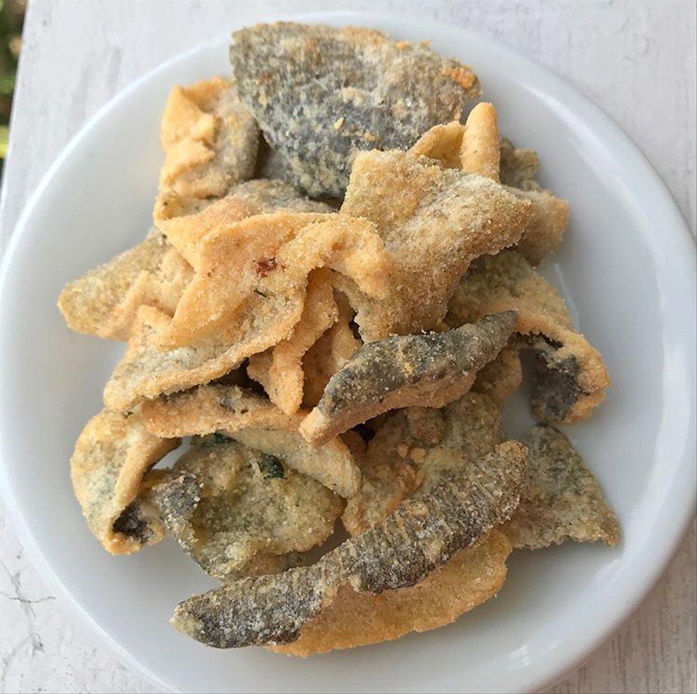 keupuk kulit ikan kakap